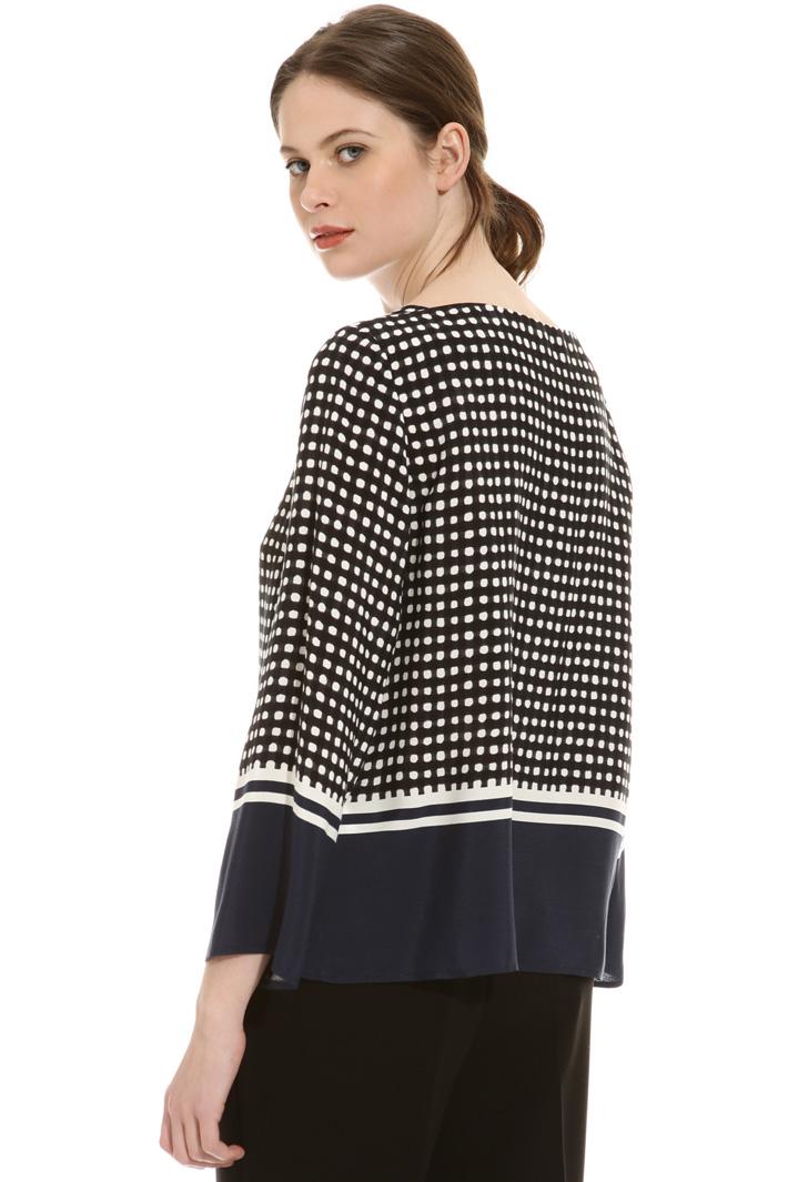 Fluid fabric blouse Intrend