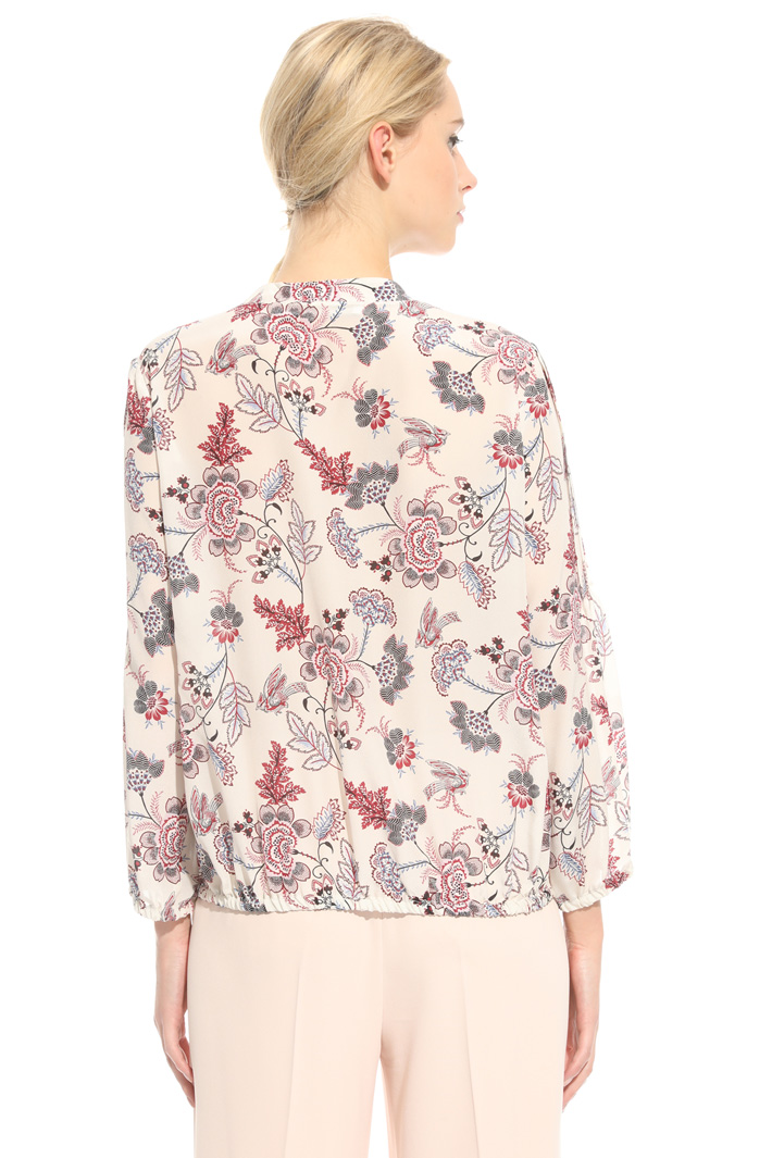 Crepe de chine blouse Intrend