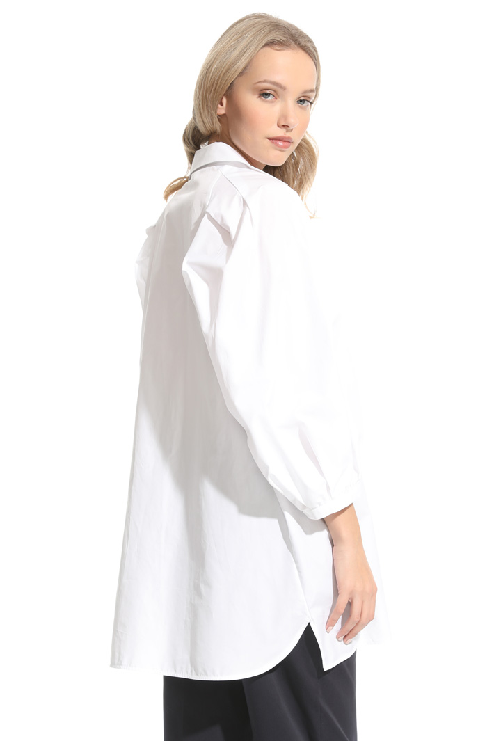 Oversized shirt in poplin Intrend