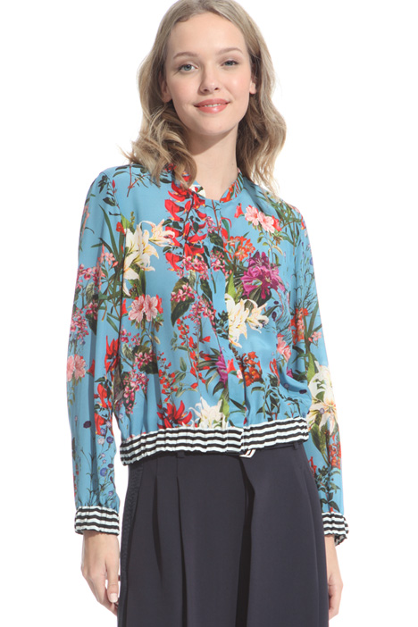 Silk georgette shirt Intrend