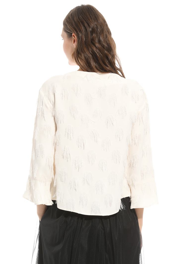 Blusa in fil coupé Intrend