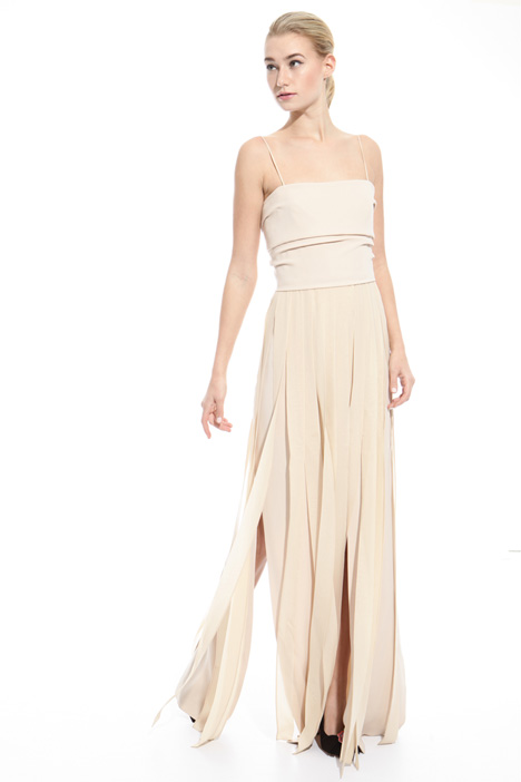 Long dress with slits Intrend