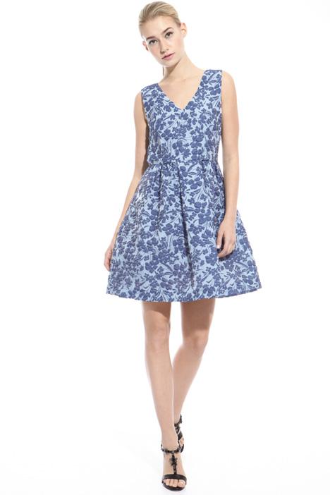 Cloquet fabric dress Intrend