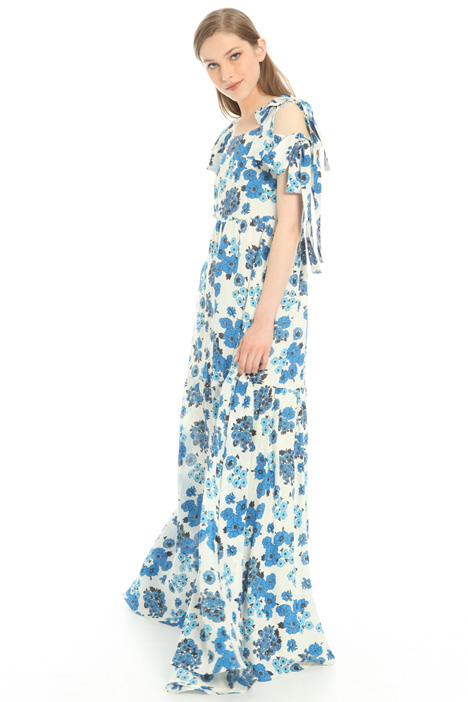 Printed voilé dress  Intrend