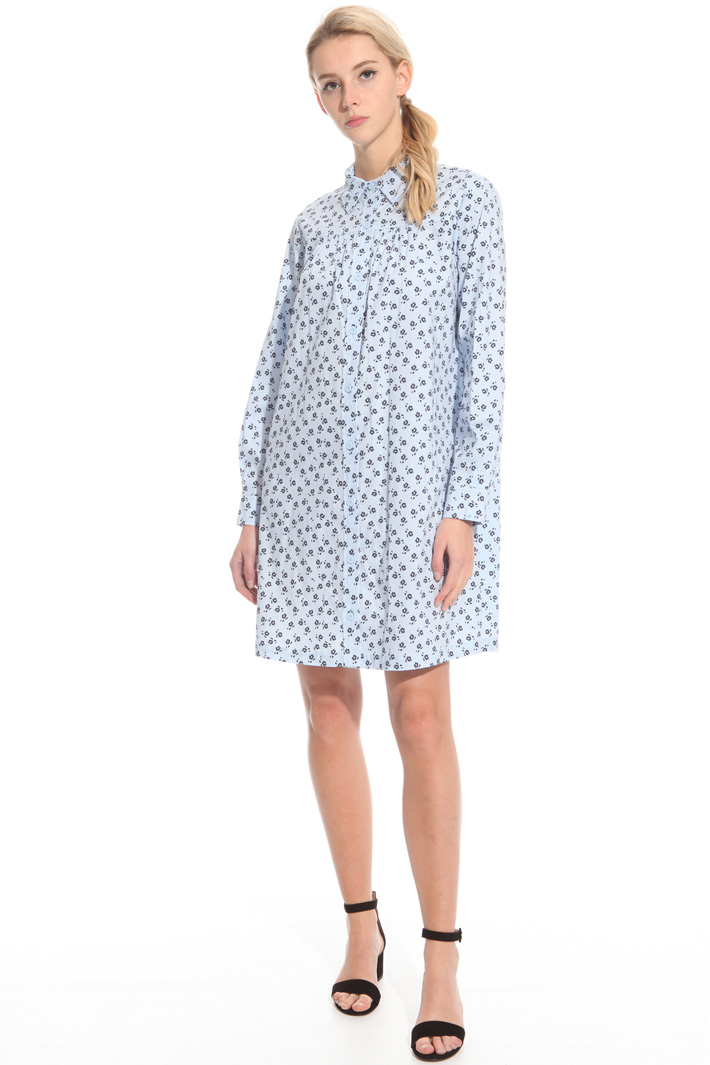 Loose-fit cotton dress Intrend