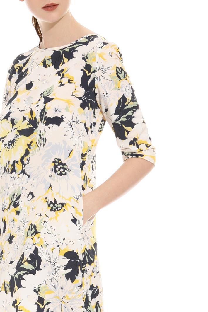 Crepe fabric dress Intrend