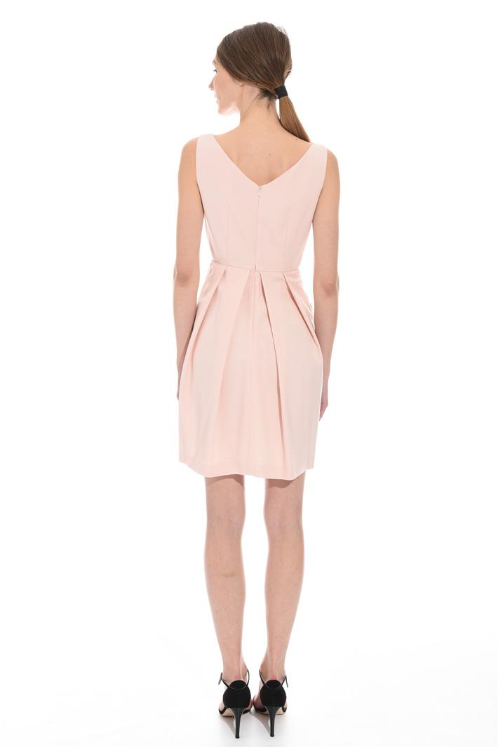 Faille corolla dress Intrend