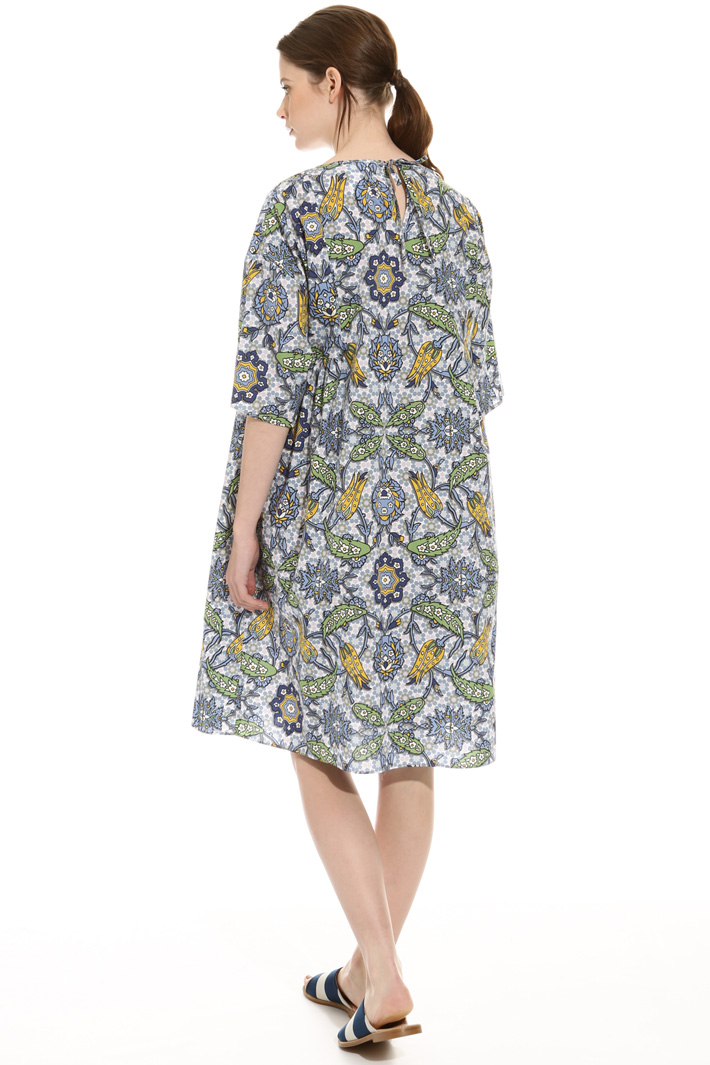 Loose-fit printed dress Intrend