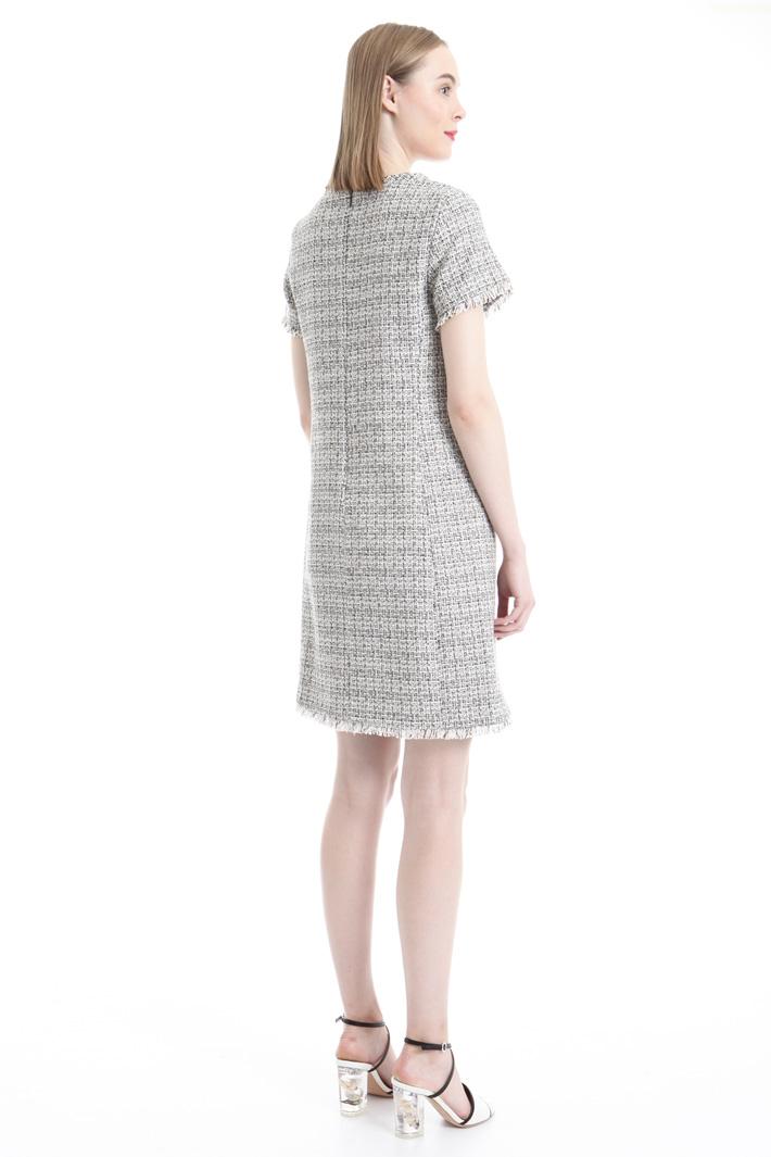 Lurex blend fabric dress Intrend