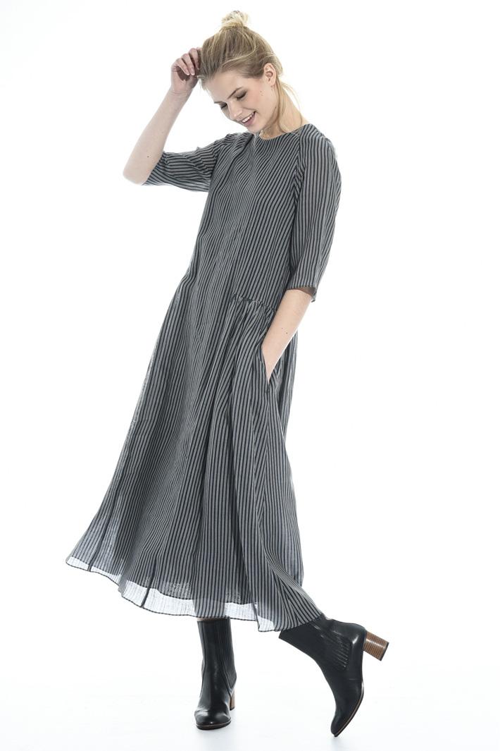 Long ramié dress Intrend