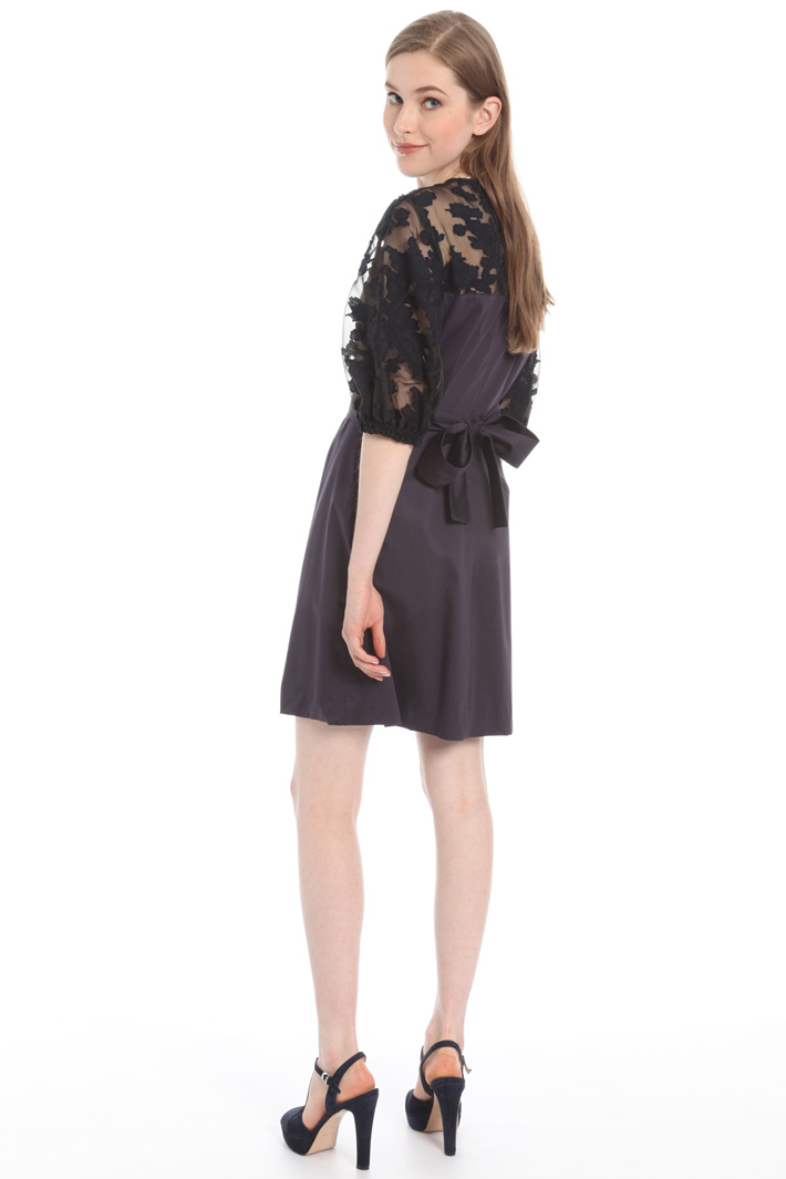 Organza and satin dress Intrend