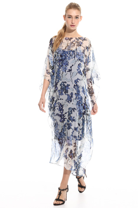 Loose-fit silk dress Intrend
