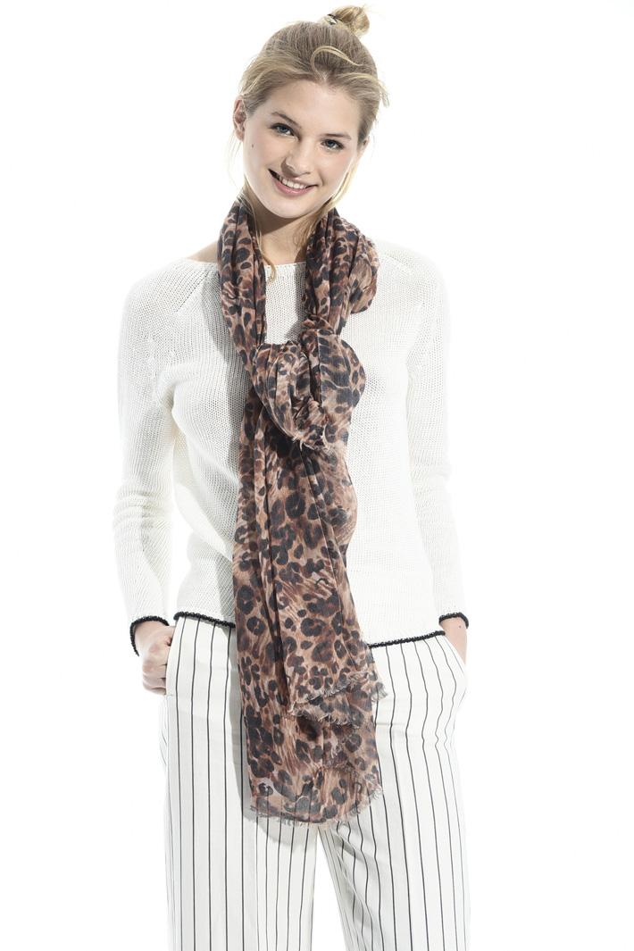Animalier print scarf Intrend