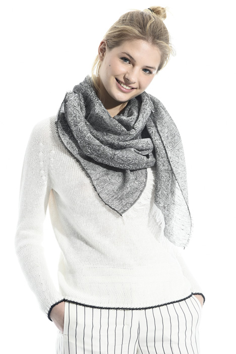 Soft jacquard stole Intrend