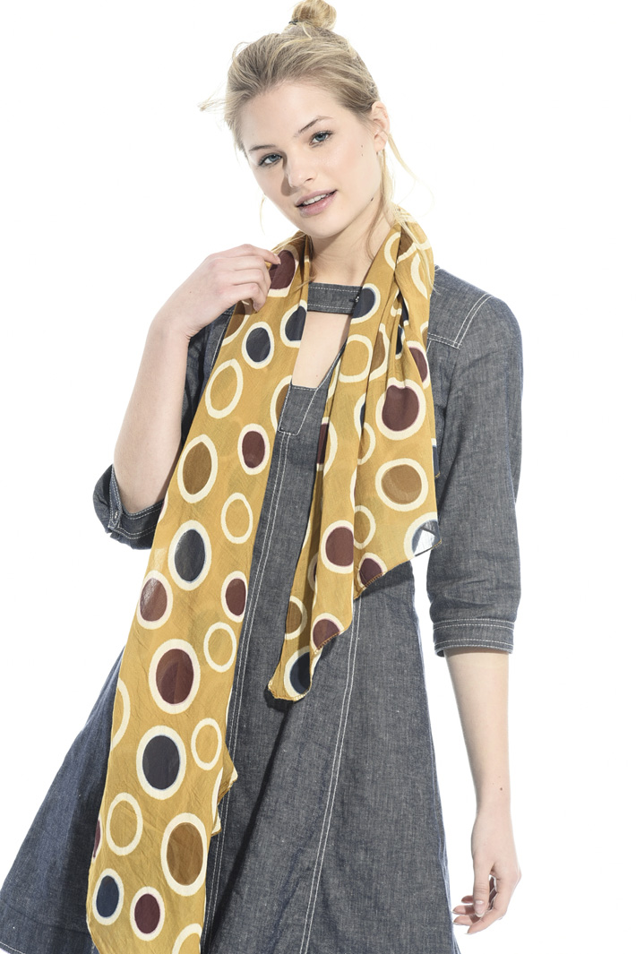 Lightweight cotton scarf Intrend