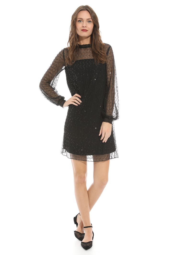 Tulle and sequin dress Intrend