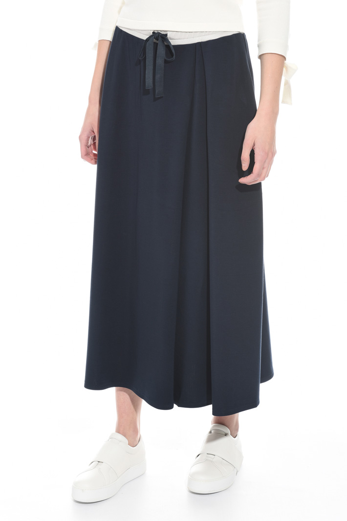 Loose-fit jersey skirt Intrend