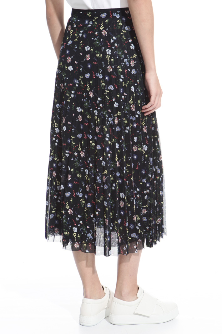 Midi skirt in tulle Intrend