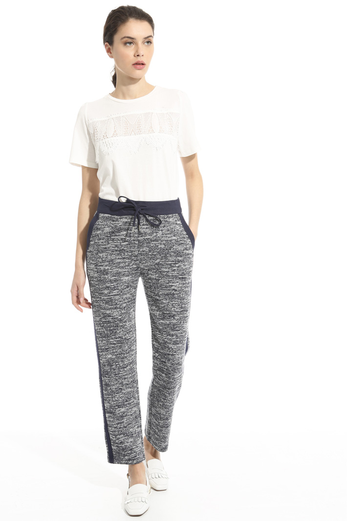 Pantalone in maglia Intrend