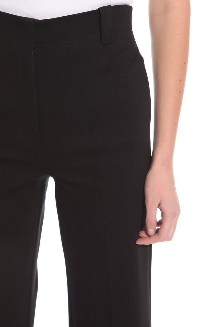 Jersey stitch trousers Intrend
