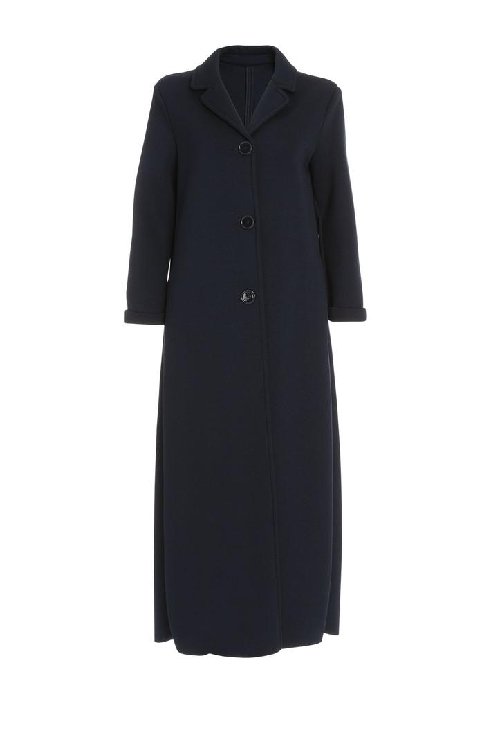 Fleece fabric overcoat Intrend
