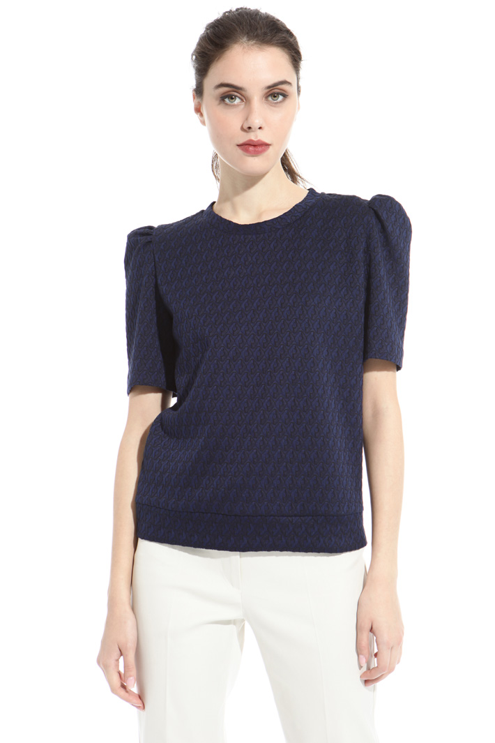 Puffed sleeve top Intrend
