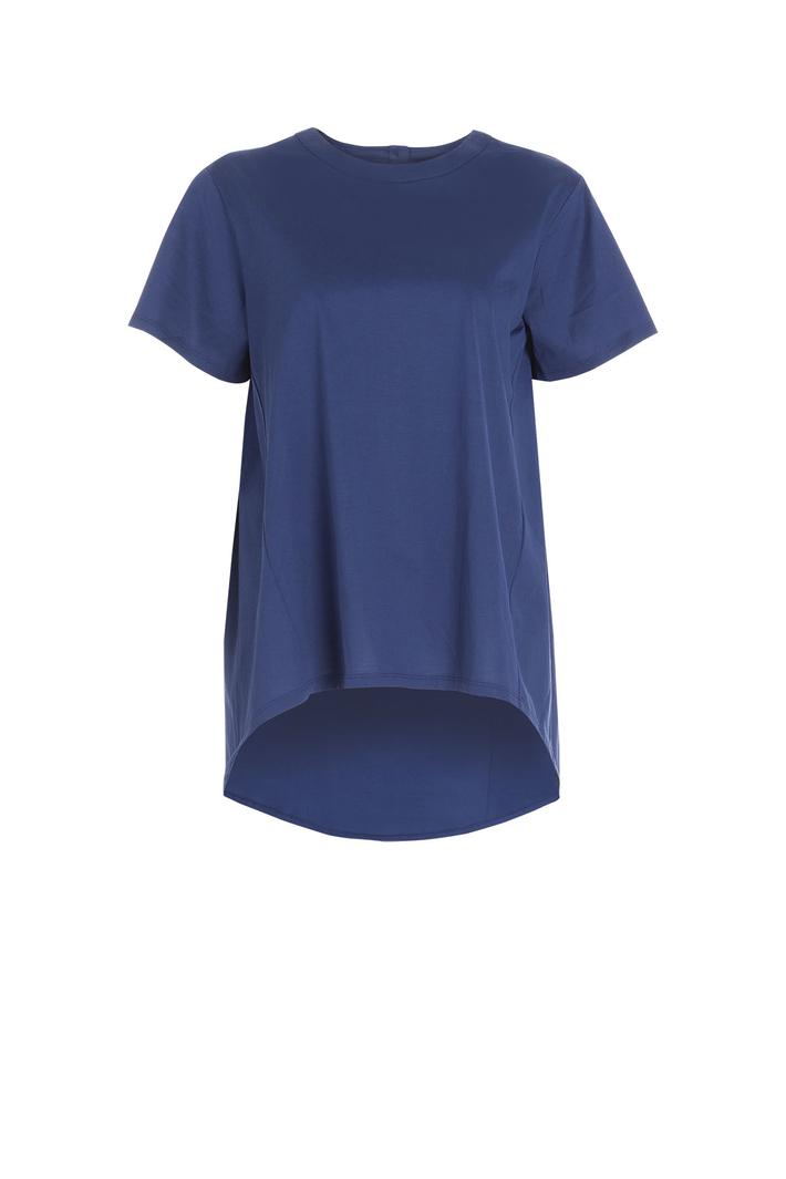 T-shirt in raso di cotone Intrend