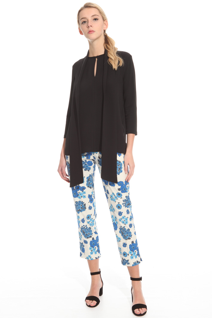 Blusa in jersey crepe Intrend