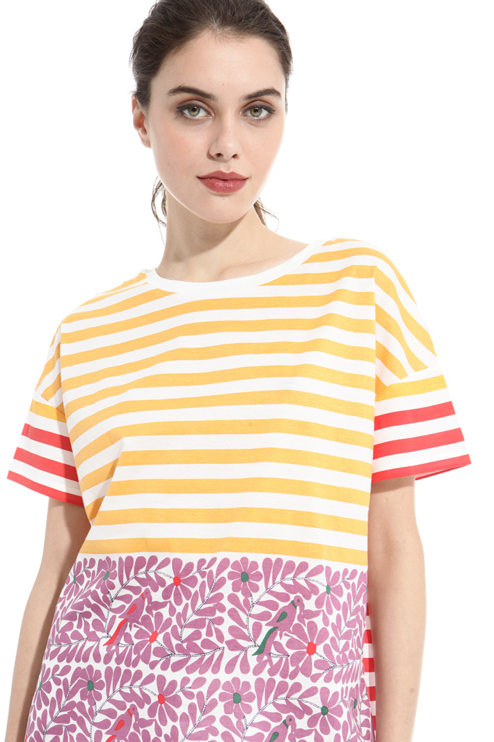 Printed boxy T-shirt Intrend