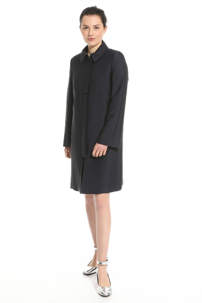 Cotton twill topcoat Intrend