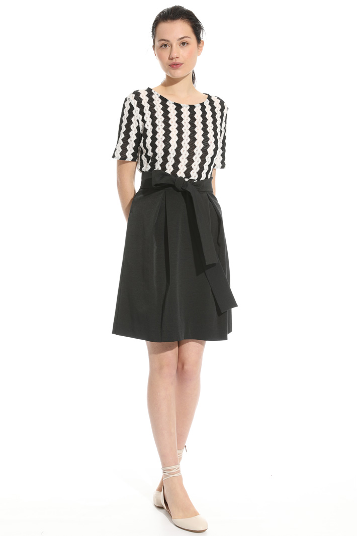 Stretch jacquard skirt Intrend