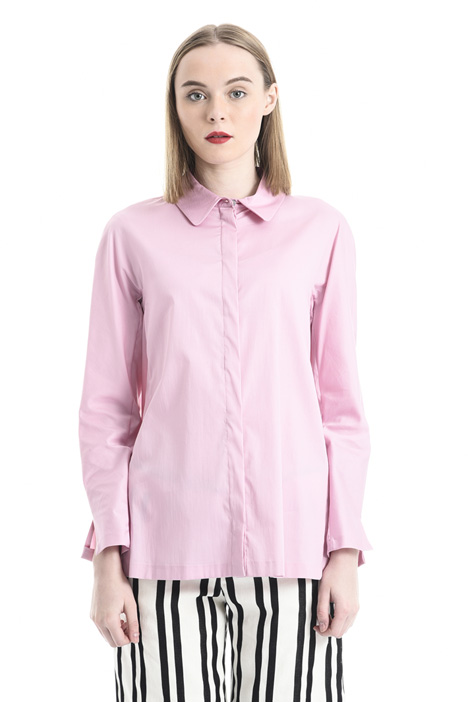 Cotton satin shirt Intrend