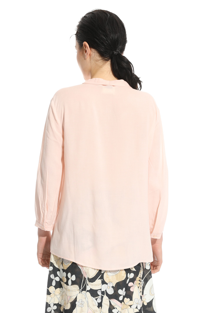Blouse in fluid fabric Intrend