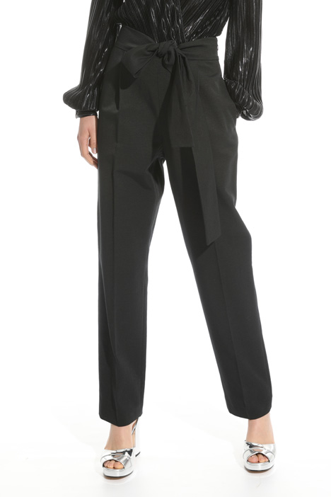 Bow detail trousers Intrend