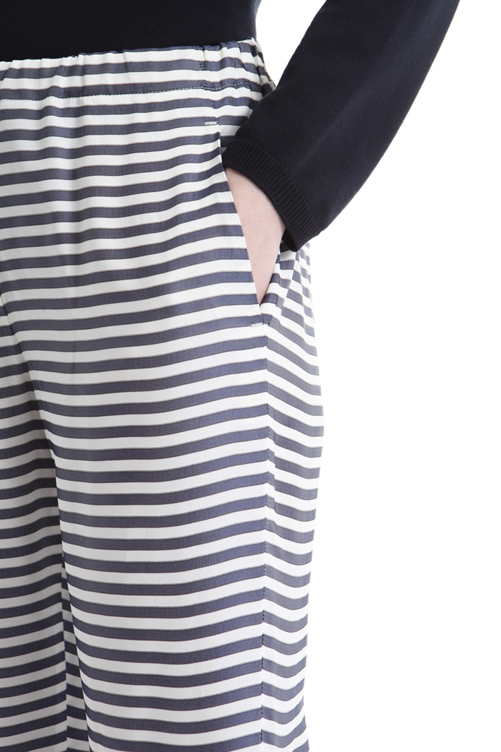 Viscose satin trousers Intrend
