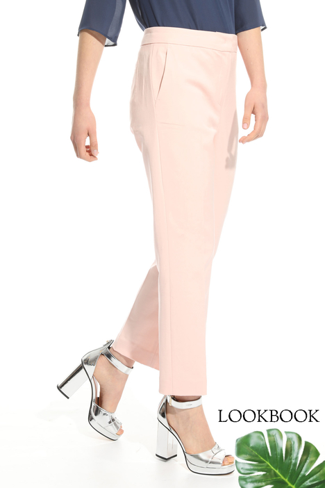 Stretch faille trousers Intrend