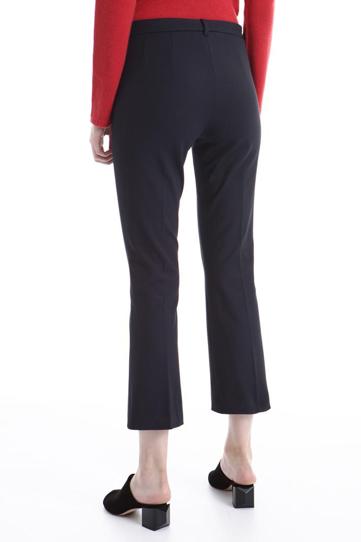 Pantalone in doppio di cotone Intrend