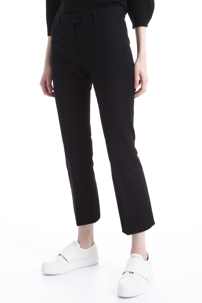 Double cotton trousers Intrend