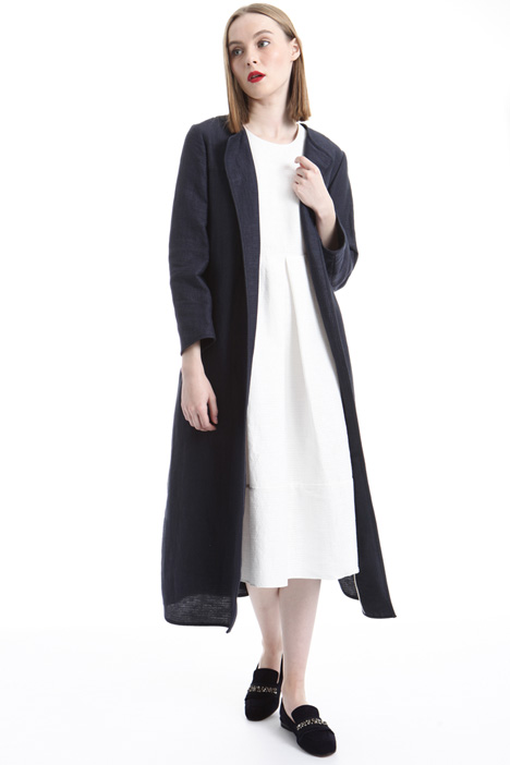 Cotton ottoman topcoat Intrend