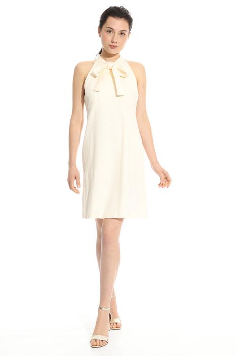 Cotton piquet dress  Intrend
