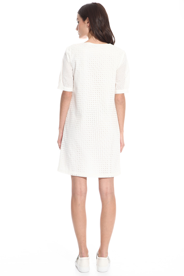 Short broderie anglaise dress Intrend