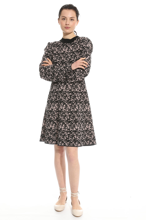 Knit jacquard dress Intrend