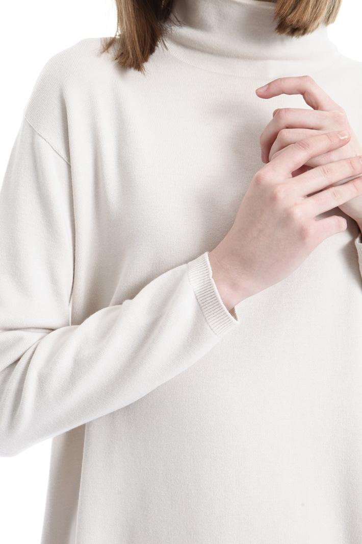 Dolcevita in maglia di viscosa Intrend