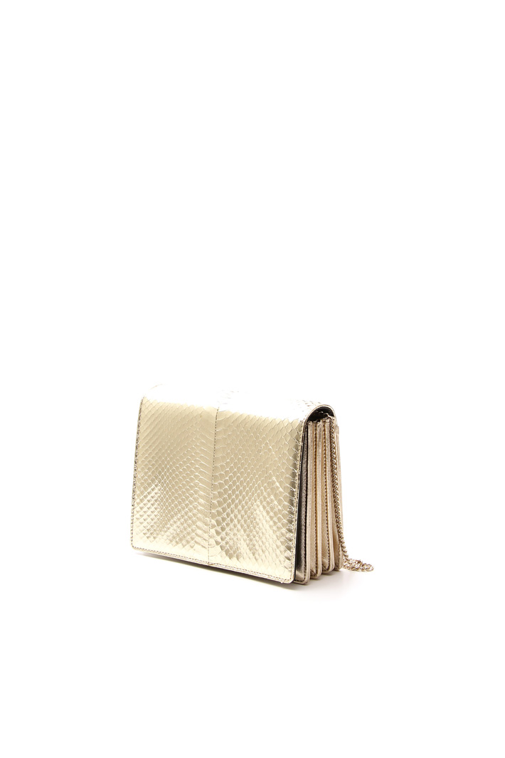 Leather clutch Intrend