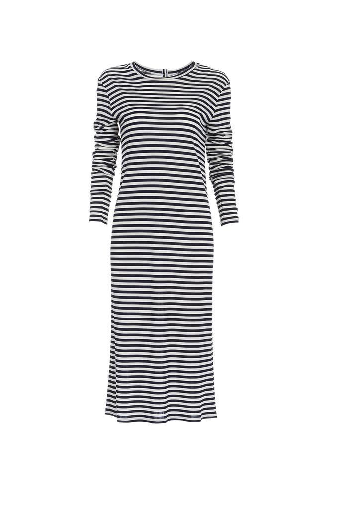 Striped jersey dress  Intrend