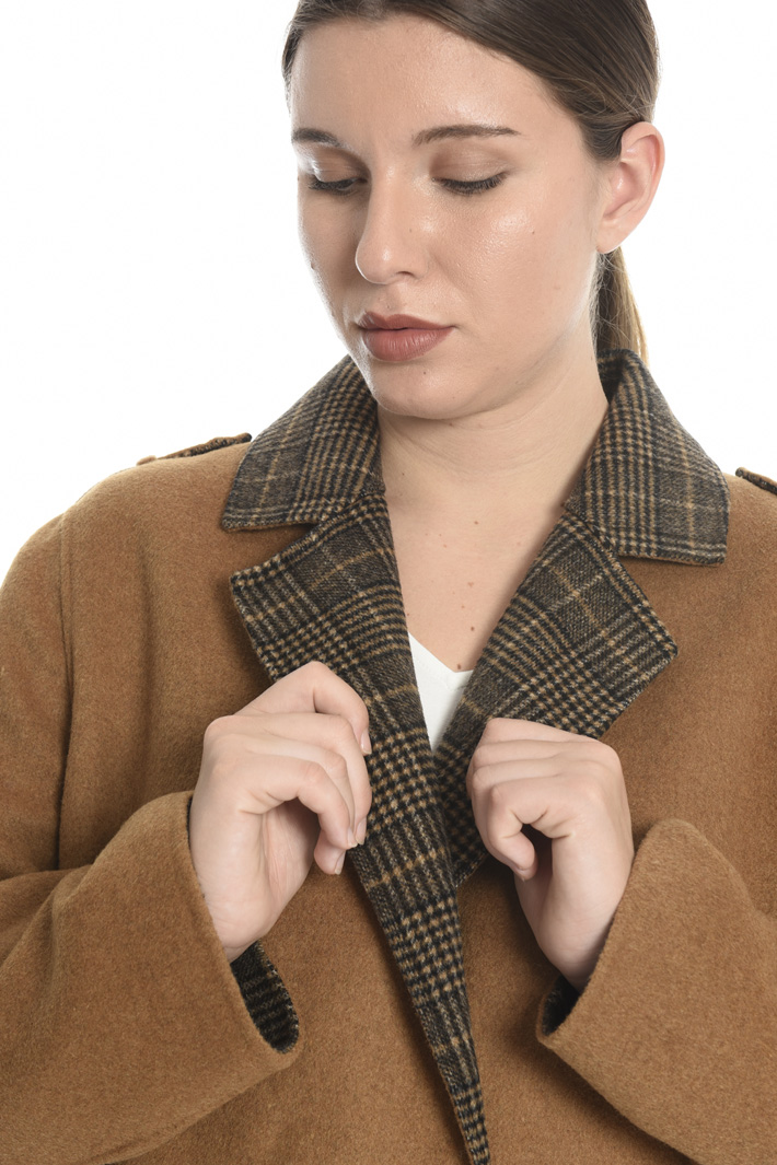 Double wool blend coat Intrend