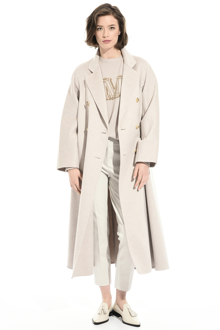 Pure cashmere oversized coat Intrend