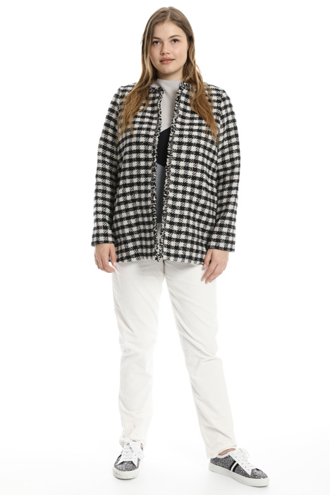 Checked Woven jacket Intrend