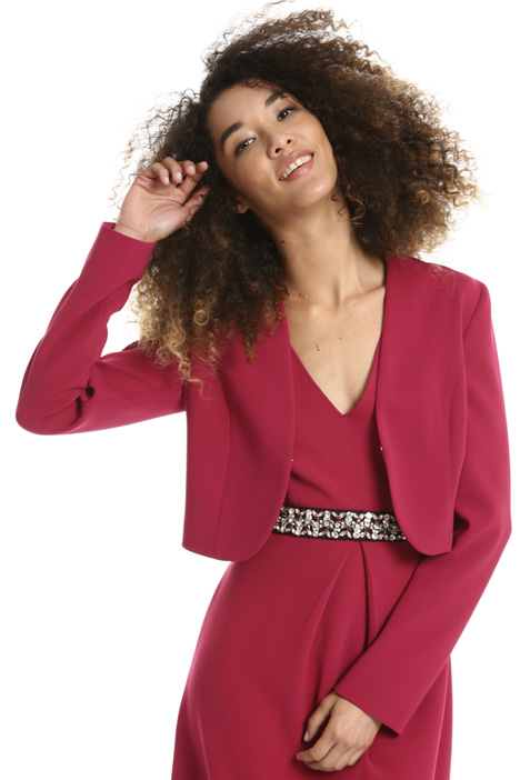 Triacetate bolero jacket Intrend