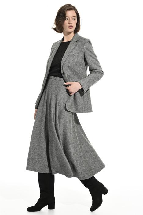 Natté wool blend blazer Intrend